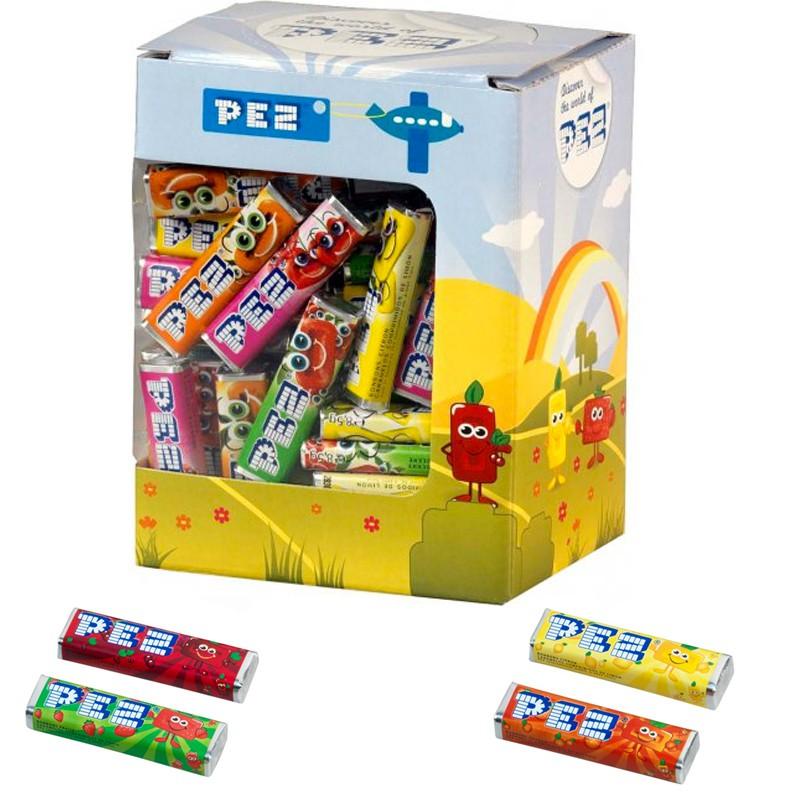 bonbon-original;pez-candy-inc-boite-100-recharges-pez