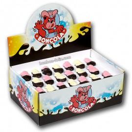 bonbon-paques;chocmod-boncola-160-guimauves-poussins-mi-enrobes-lait