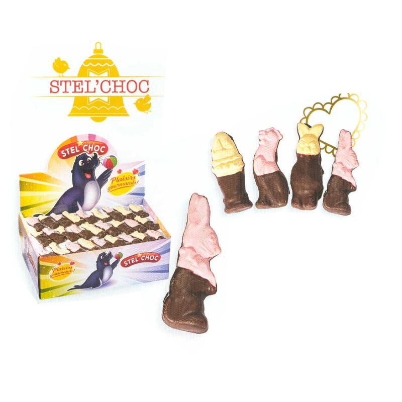 bonbon-paques;chocmod-boncola-80-guimauves-figures-mi-chocololatees-noir