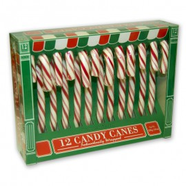 Candy canes rouges