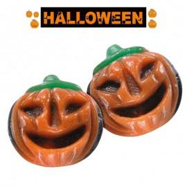 Citrouille Halloween avec bonbons