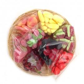 Corbeille Bonbons Fruits