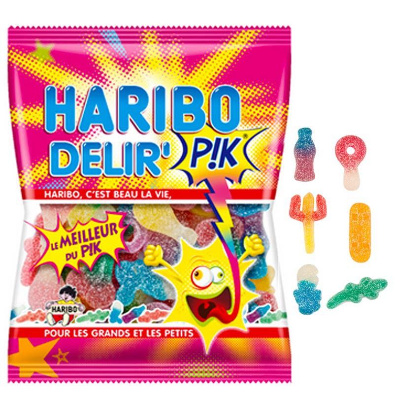 gamme-pik-bonbons-acide;haribo-delir-pik-haribo-120gr
