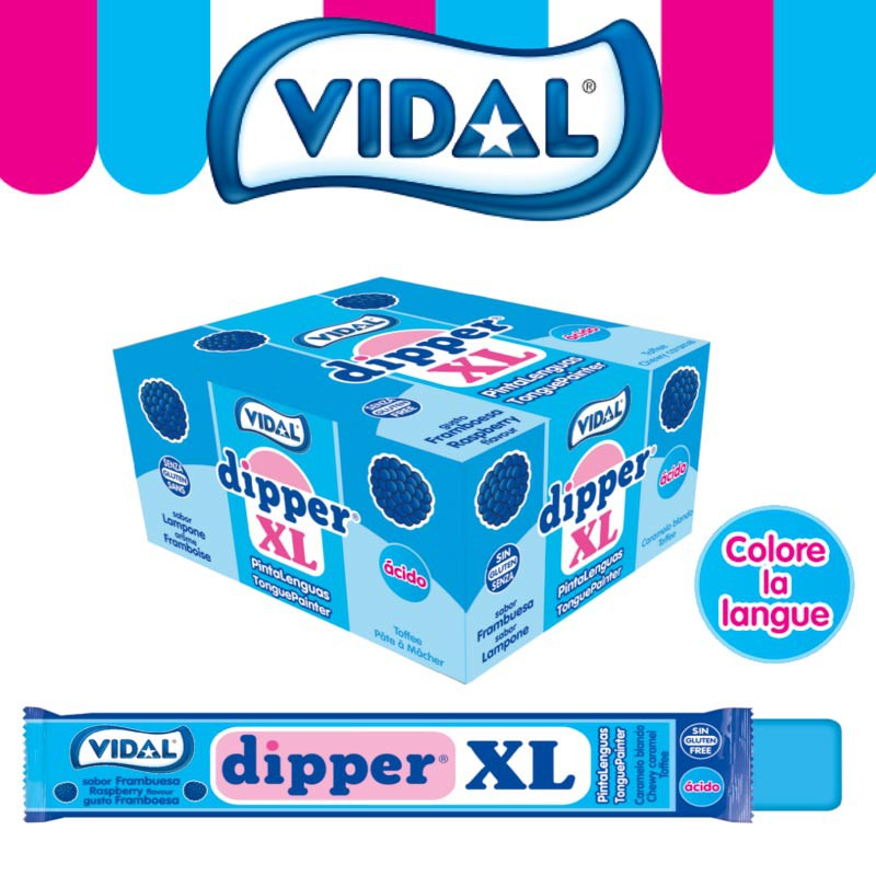 bonbon-pate-a-macher;vidal-dipper-xl-tache-langue-framboise