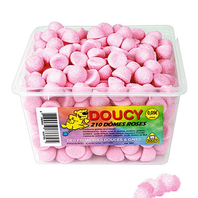 bonbon-guimauve-bonbon-chamallows;doucy-dome-rose