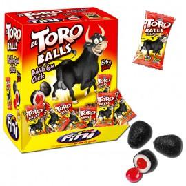 El toro Balls chewing gum Fini
