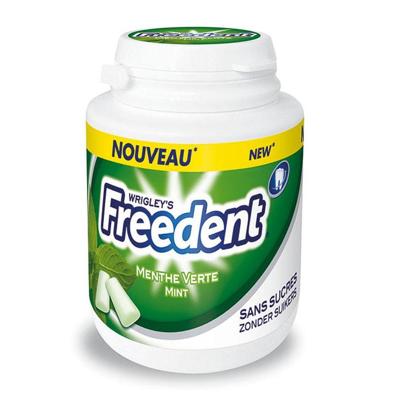 freedent-chewing-gum;wrigley-freedent-bottle-menthe-verte
