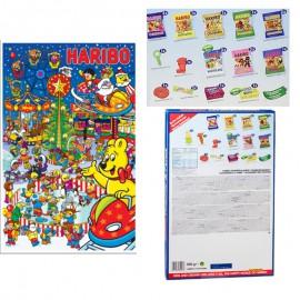 Haribo Calendrier de l'avent,calendrier noel Haribo,bonbon noel