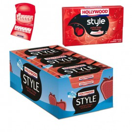 hollywood-style-fraise-chewing-gum