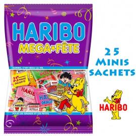 Méga-Fête Haribo méga Fête mélange de bonbons
