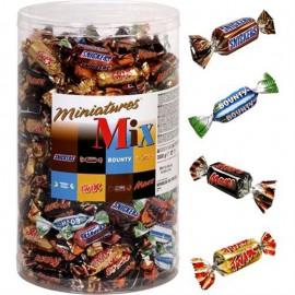 bonbon-chocolat;mars-masterfoods-miniatures-mix-mars-bounty-snickers-twix-800-grammes