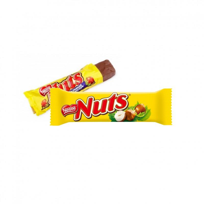 barre-chocolat-et-barre-chocolatee-aux-cereales;nestle-nuts
