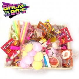 Panier Rétro Bonbons Stars des Années 80
