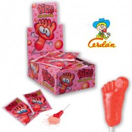 bonbon-poudre;cerdan-pied-soda-fraise-cerdan