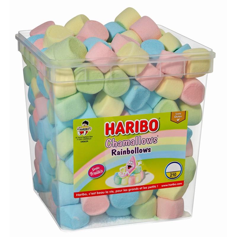 bonbon-guimauve-bonbon-chamallows;haribo-rainbollows-chamallows-haribo