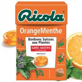 bonbons-aux-plantes;ricola-ricola-orange-menthe