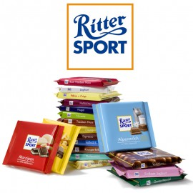 barre-chocolat-et-barre-chocolatee-aux-cereales;lutti-ritter-sport-100gr