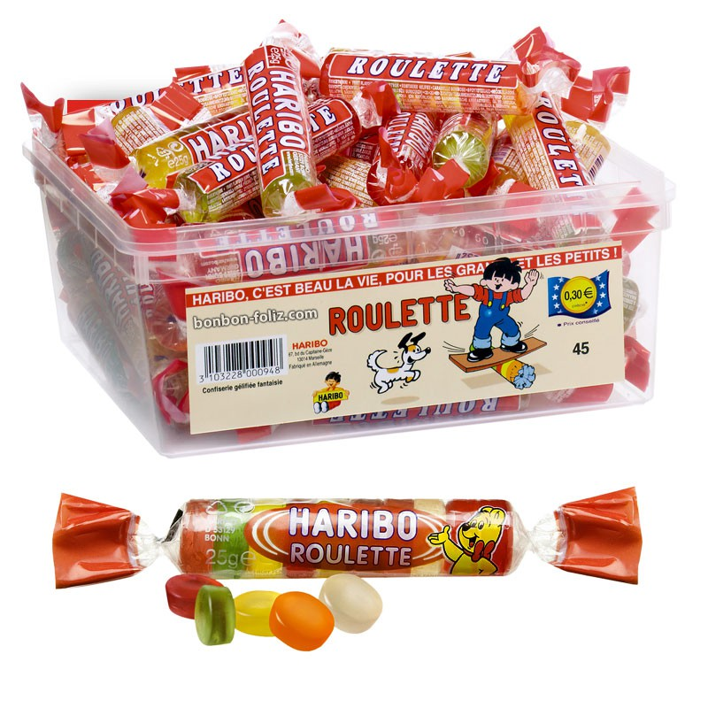 bonbon-gelifie;haribo-roulette-fruit-haribo