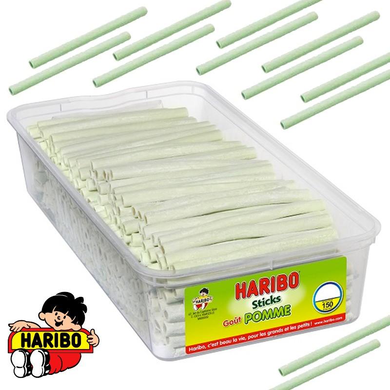 bonbon-haribo;haribo-sticks-pomme-haribo