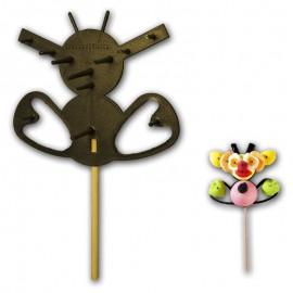 gateaux-de-bonbons;varietes-de-bonbons-et-supports-support-plastique-abeille