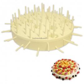 gateaux-de-bonbons;varietes-de-bonbons-et-supports-support-plastique-maxi-gateau-blanc-310mm