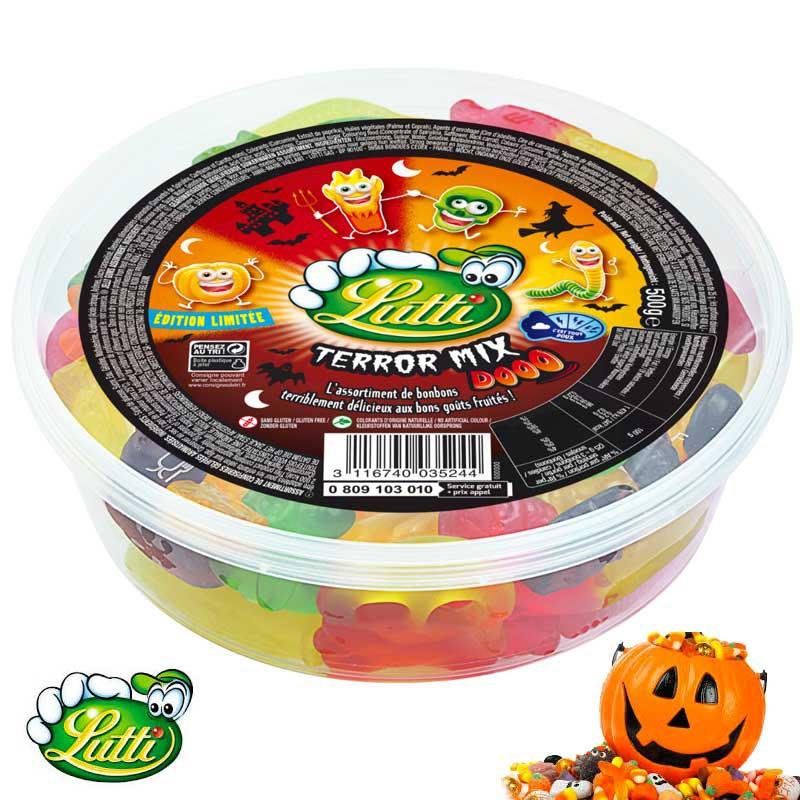 bonbon-gelifie;lutti-terror-mix-lutti-halloween