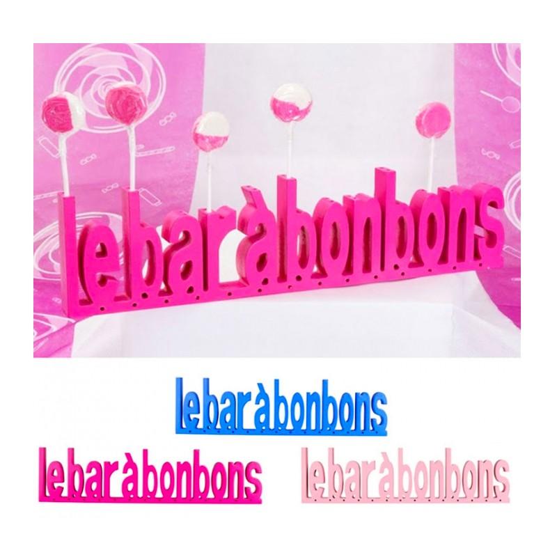 bar-a-bonbon;bonbon-foliz-texte-bar-a-bonbon-bois-fuchsia