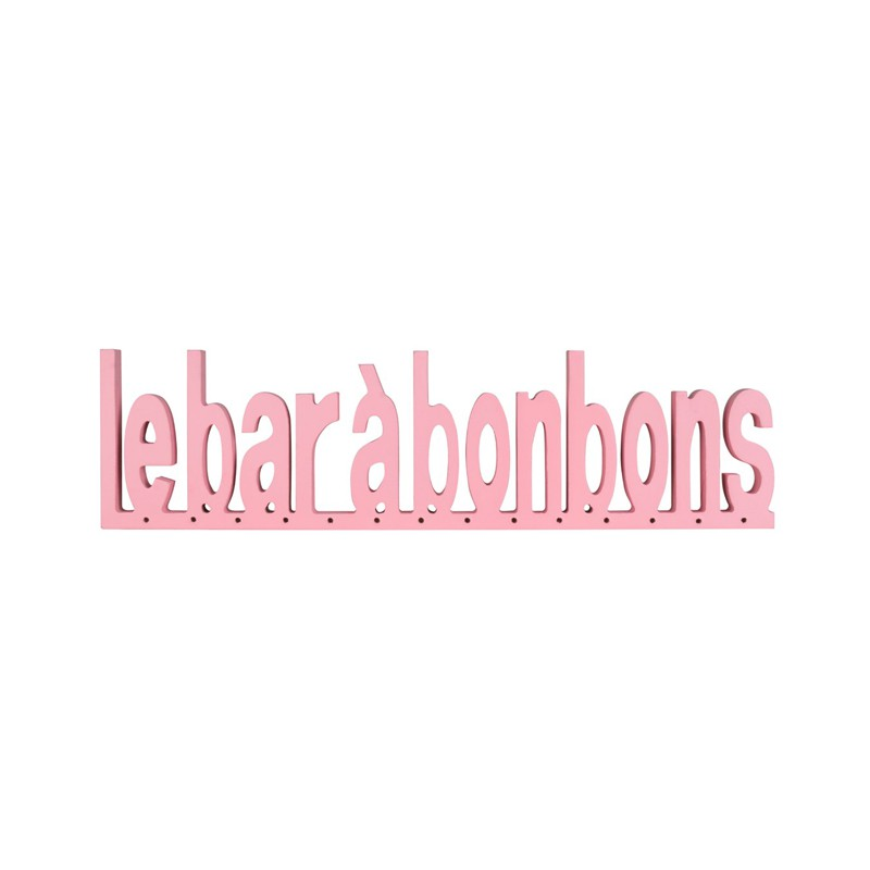 bar-a-bonbon-baby-shower;bonbon-foliz-texte-bois-bar-a-bonbon-rose