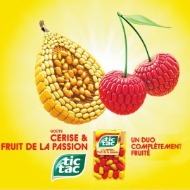 Tic Tac Cerise et Fruits de la passion