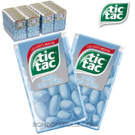 TIC TAC Menthe Extra fraîche