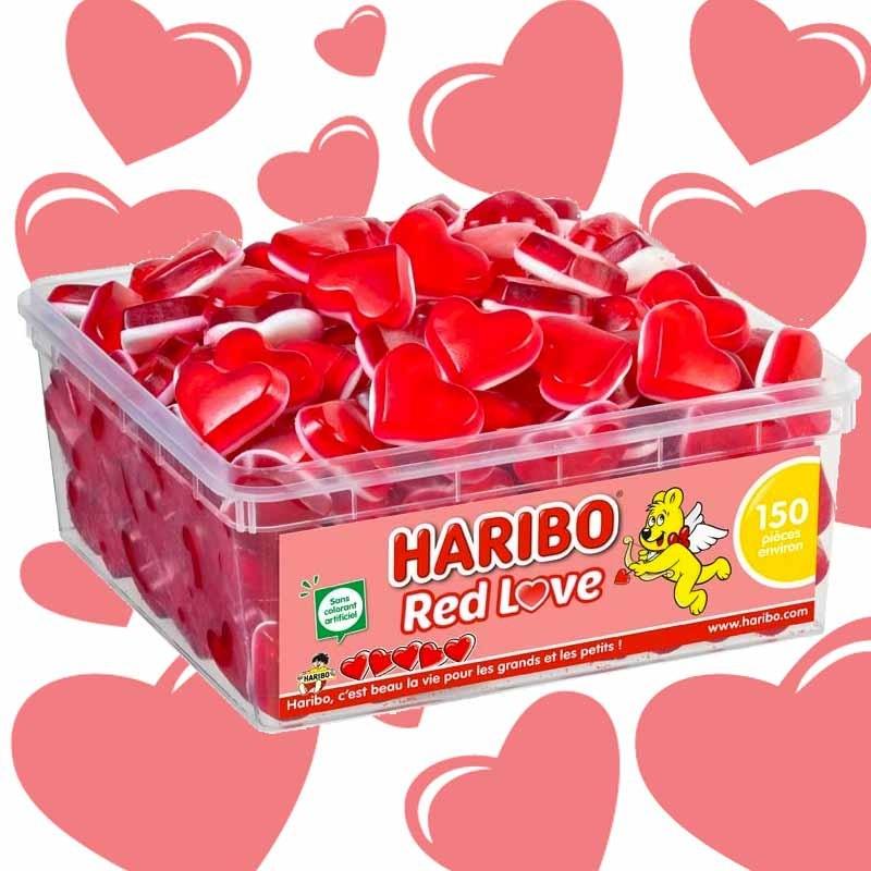 Red love Haribo boite