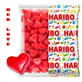 Red love coeur Haribo,...