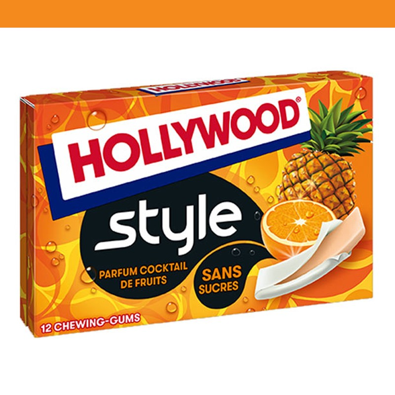Hollywood style cocktails de fruits