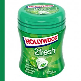 Hollywood 2 FRESH Menthe Verte / Chlorophylle Bottle