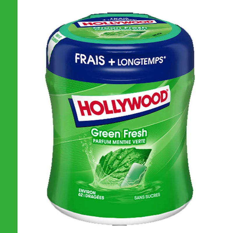 hollywood-chewing-gum;hollywood-hollywood-green-fresh-bottle-60-dragees