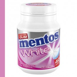 Mentos bottle white bubble