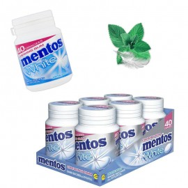 Mentos bottle white menthe douce