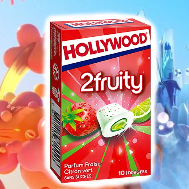 Hollywood 2 Fruity fraise citron