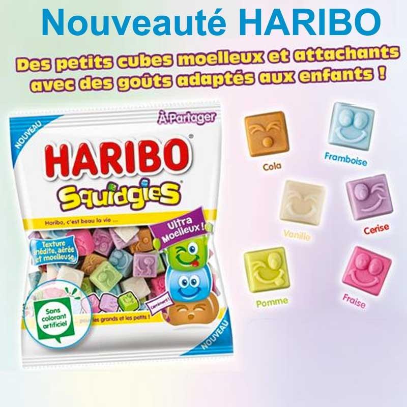 Squidgies bonbon Haribo