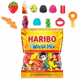 World Mix Haribo 120g