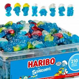 Schtroumpf Haribo boîte de...