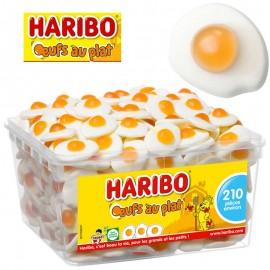 Oeufs au plat Haribo en boîte