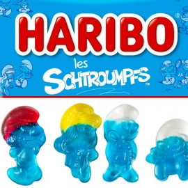 bonbon Schtroumpfs Haribo