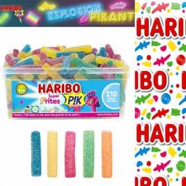 Super Frites Pik Haribo boite 210 bonbons