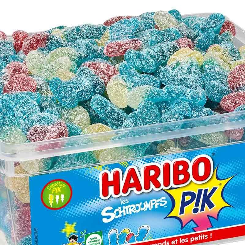Les Schtroumpfs Pik 210 bonbons Haribo