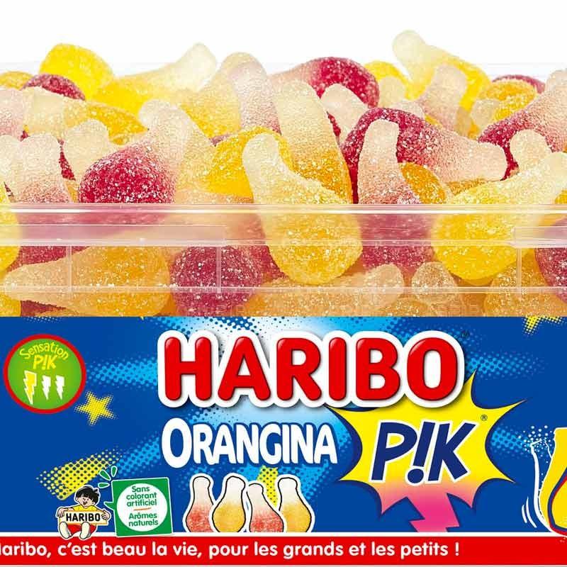 Orangina Pik Haribo en boîte