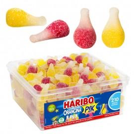 210 Bonbons Orangina Pik Haribo en boîte
