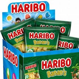 mini sachet banan's Haribo