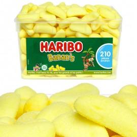 Banan's Haribo boîte 210 bonbons banane