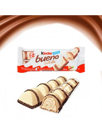 Barre Kinder Bueno White